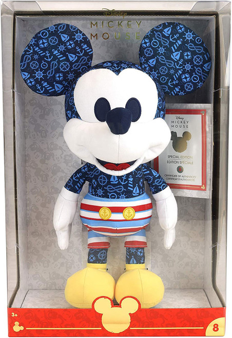 Disney Year of the Mouse Mickey Mouse Exclusive 15-Inch Plush [Captain, Damaged Package]