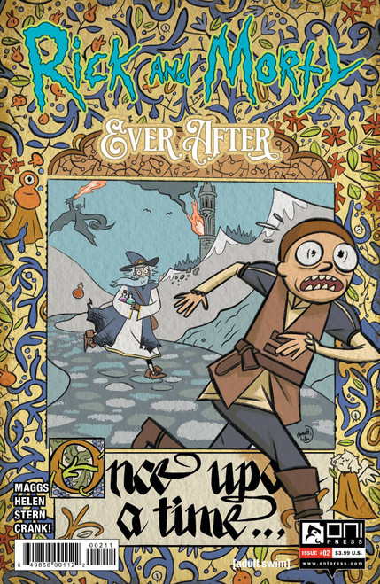 Oni Press Rick & Morty Ever After #2 Comic Book