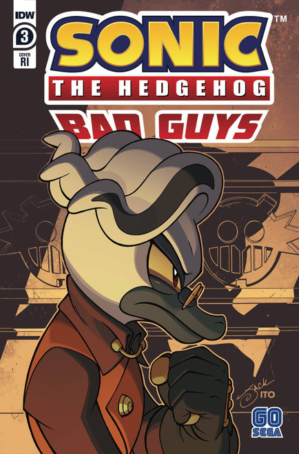 IDW Sonic The Hedgehog Bad Guys #3 of 4 Comic Book [Lawrence Incentive Variant]