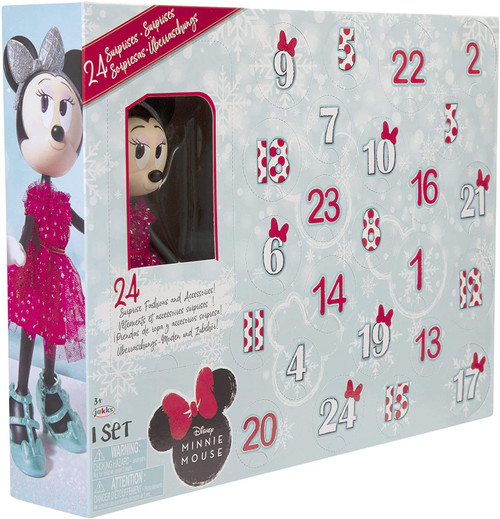 Disney Minnie Mouse 2020 Holiday Collectible Fashion Doll Exclusive Advent Calendar