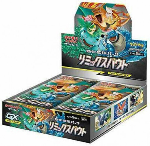 Pokemon Trading Card Game Sun & Moon Remix Bout Booster Box [Japanese, 30 Packs]