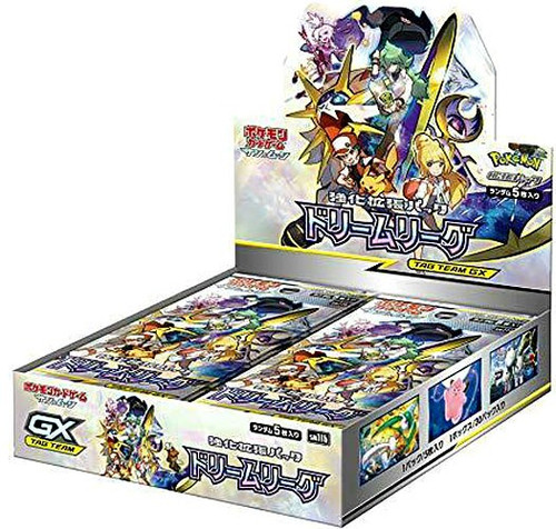 Pokemon Trading Card Game Sun & Moon Tag Team GX Dream League Booster Box [Japanese, 30 Packs]