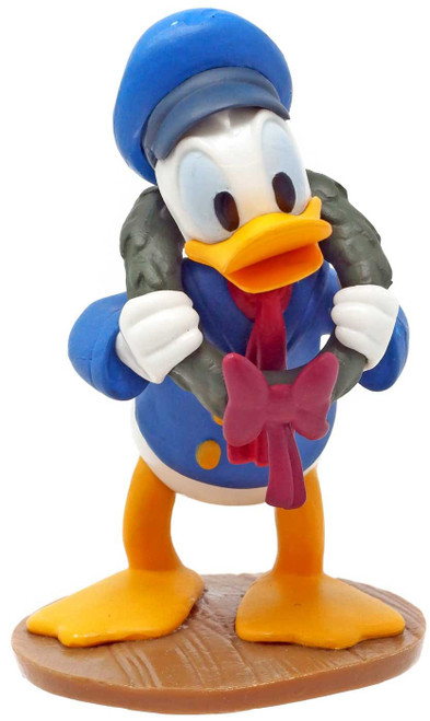 Disney Mickey Mouse Mickey's Christmas Carol Donald Duck as Fred PVC Figure [Loose]