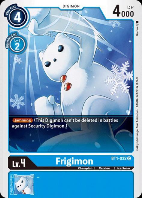 Digimon Trading Card Game 2020 V.1 Common Frigimon BT1-032
