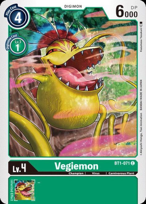 Digimon Trading Card Game 2020 V.1 Common Vegiemon BT1-071