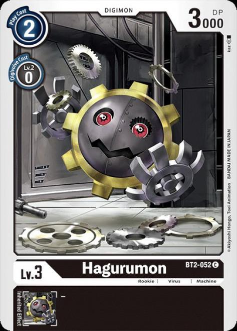 Digimon Trading Card Game 2020 V.1 Common Hagurumon BT2-052