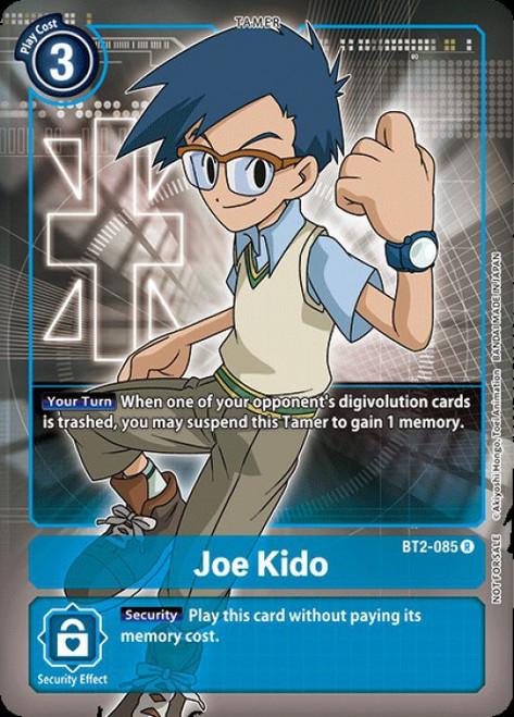 Digimon Trading Card Game 2020 V.1 Rare Joe Kido BT2-085 [Alternative Art]