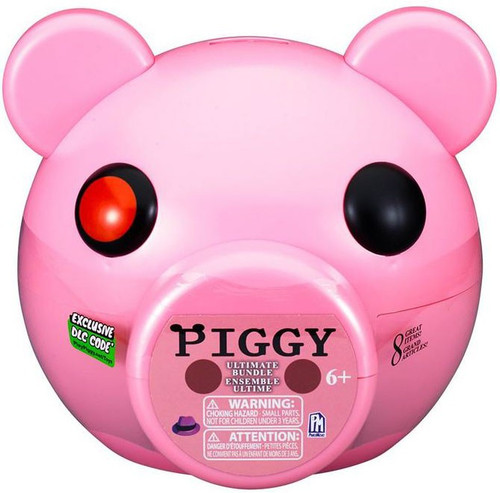 Piggy Ultimate Bundle 3-Inch Piggy Head Bank Playset [Includes DLC Code!]