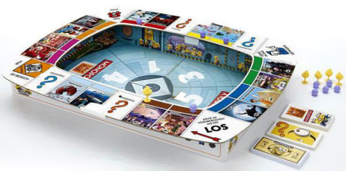 Despicable Me 2 Monopoly Board Game [No Figures, Damaged Package]