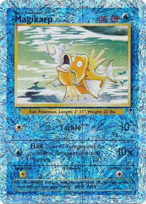 Pokemon Legendary Collection Reverse Foil Uncommon Magikarp #52 [Lightly Played]