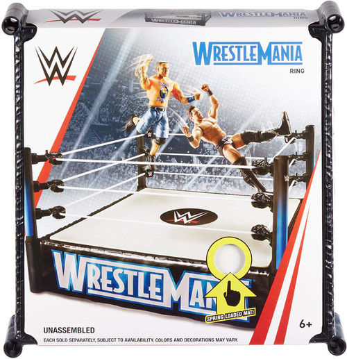 WWE Wrestling WrestleMania Superstar Ring [2019, Damaged Package]