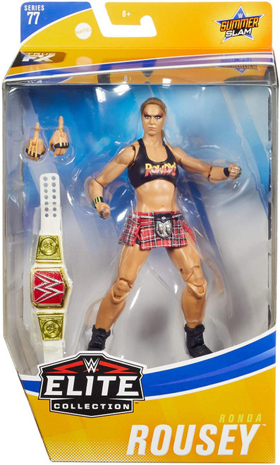 WWE Wrestling Elite Collection Series 77 Ronda Rousey Action Figure [Damaged Package]