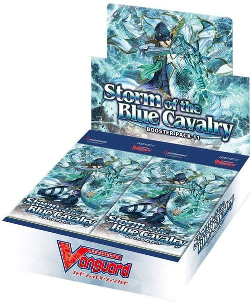 Cardfight Vanguard VI Storm of the Blue Cavalry Booster Box [16 Packs]