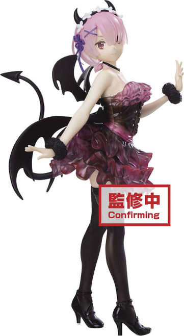 Re:Zero Starting Life in Another World Espresto Collection Ram 9-Inch Collectible PVC Figure [Clear & Dressy] (Pre-Order ships July)