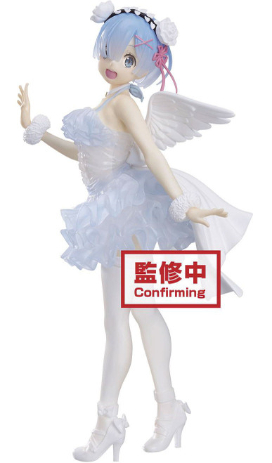 Re:Zero Starting Life in Another World Espresto Collection Rem 9-Inch Collectible PVC Figure [Clear & Dressy] (Pre-Order ships July)