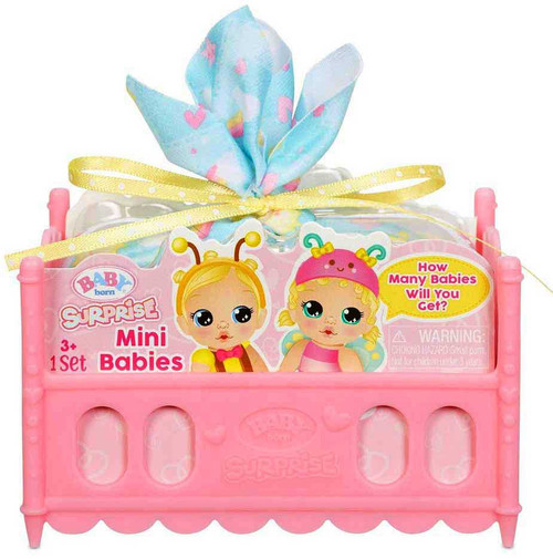 Baby Born Surprise Mini Babies Mystery Pack [Twins OR Triplets, How Many Babies Will You Get??]