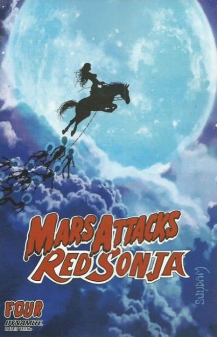 Dynamite Entertainment Mars Attacks Red Sonja #4A Comic Book