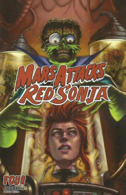 Dynamite Entertainment Mars Attacks Red Sonja #4B Comic Book