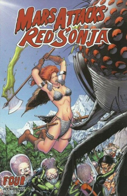 Dynamite Entertainment Mars Attacks Red Sonja #4C Comic Book