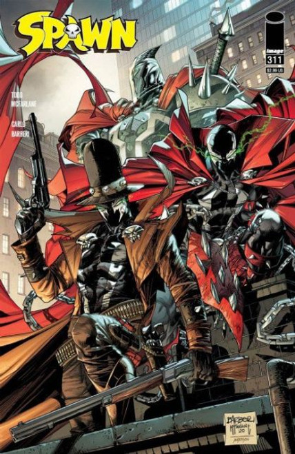 Image Comics Spawn #311 Comic Book [McFarlane Cover]