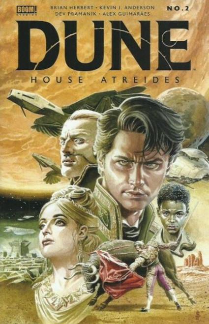 Boom! Studios Dune: House Atreides #2B Comic Book
