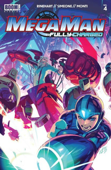 Boom! Studios Mega Man: Fully Charged #4A Comic Book