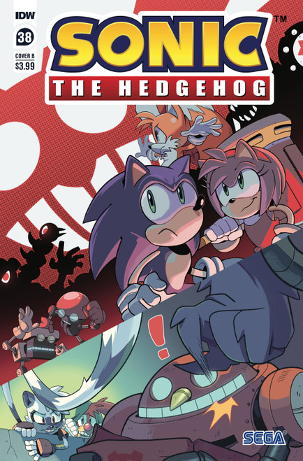 IDW Sonic The Hedgehog #38 Comic Book [Cover B Thomas Rothlisberger] (Pre-Order ships March)