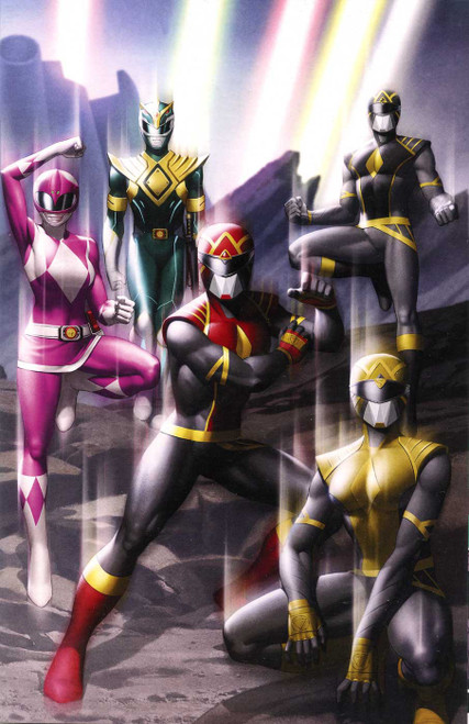 Boom! Studios Power Rangers #1K Comic Book [One Per Store Variant]