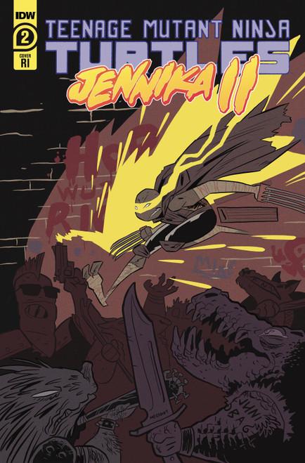 IDW Jennika II #2 Comic Book [Bustos Variant]