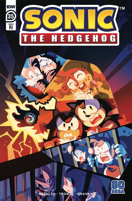IDW Sonic The Hedgehog #35 Comic Book [Retailer Incentive Variant]