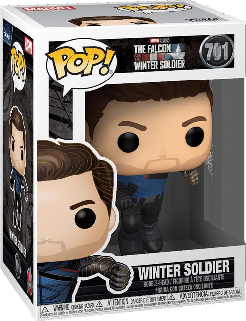 Funko The Falcon and the Winter Soldier POP! Marvel Winter Soldier Vinyl Bobble Head (Pre-Order ships May)