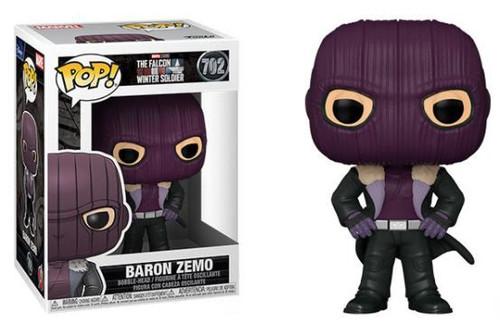Funko The Falcon and the Winter Soldier POP! Marvel Baron Zemo Vinyl Bobble Head (Pre-Order ships June)
