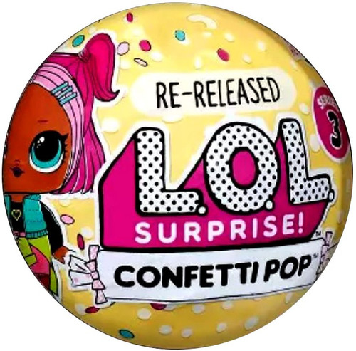 LOL Surprise Re-Released Series 3 Confetti Pop Dawn Mystery Pack