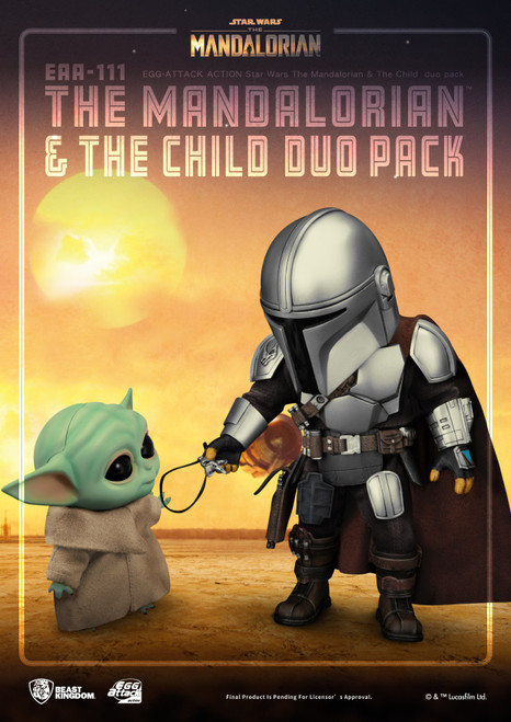 Star Wars Egg Attack The Mandalorian & The Child Action Figure Set (Pre-Order ships June)
