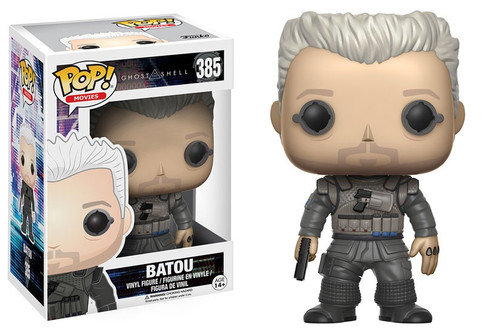 Funko Ghost in the Shell POP! Movies Batou Vinyl Figure #385 [Loose]