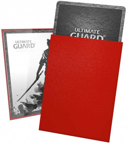 Ultimate Guard Katana Red Small Card Sleeves [60 Count]