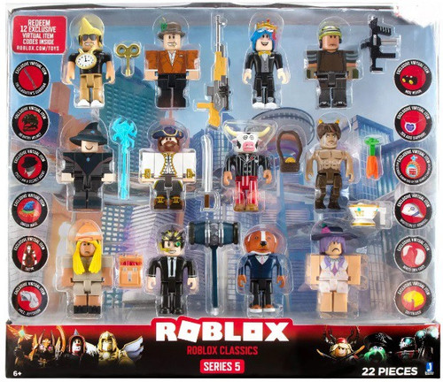 Series 5 Roblox Classics Exclusive Action Figure 12-Pack