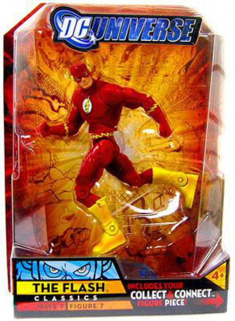 DC Universe Classics Atom Smasher Series The Flash Action Figure #7 [Damaged Package]