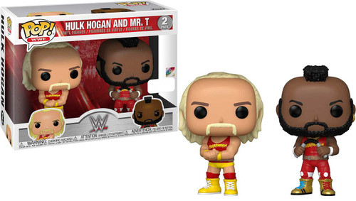 Funko WWE Wrestling POP! Sports Hulk Hogan & Mr. T Exclusive Vinyl Figure 2-Pack