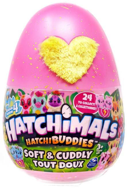 Hatchimals HatchiBuddies Season 4 Soft & Cuddly Plush 6-Inch Mystery Pack