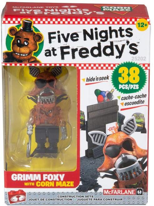 McFarlane Toys Five Nights at Freddy's Corn Maze Micro Figure Build Set