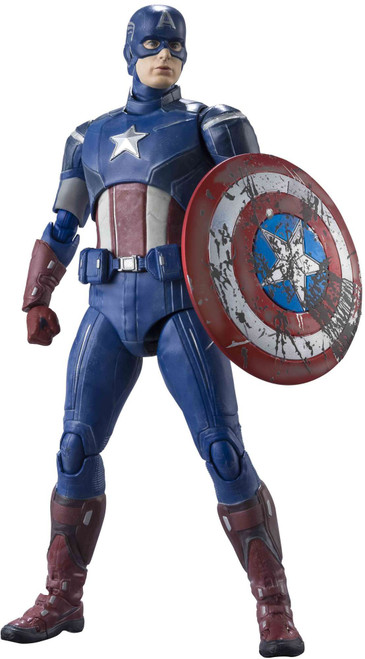 Marvel Avengers S.H. Figuarts Captain America Action Figure [Avengers Assemble] (Pre-Order ships May)