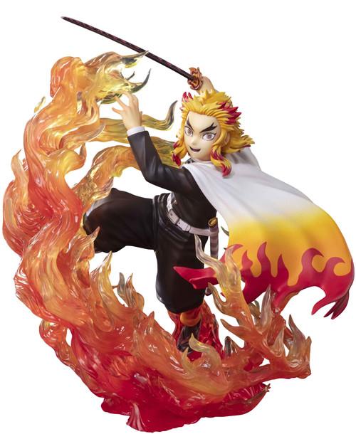 Demon Slayer: Kimetsu no Yaiba Figuarts Zero Kyojuro Rengoku 8.3-Inch Statue [Flame Breathing] (Pre-Order ships May)