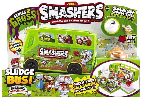 Smashers Series 2 Gross Sludge Bus Playset [Loose]