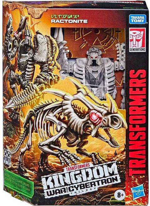 Transformers Generations Kingdom: War for Cybertron Trilogy Ractonite Deluxe Action Figure