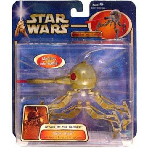 Star Wars Attack of the Clones Saga 2002 Spider Droid Action Figure [Damaged Package]