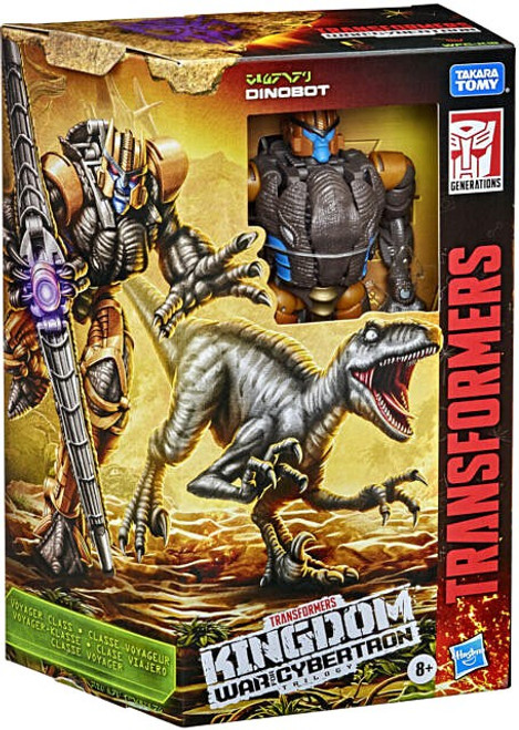 Transformers Generations War for Cybertron: Kingdom Dinobot Voyager Action Figure (Pre-Order ships April)