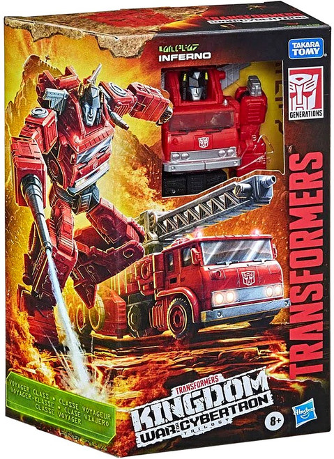 Transformers Generations Kingdom: War for Cybertron Trilogy Inferno Voyager Action Figure