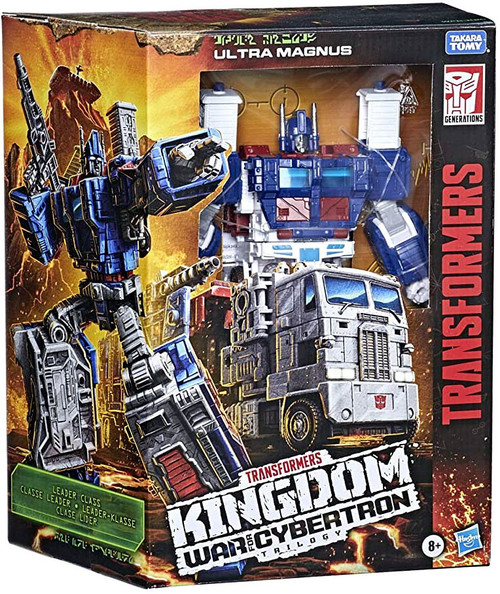Transformers Generations Kingdom: War for Cybertron Trilogy Ultra Magnus Leader Action Figure