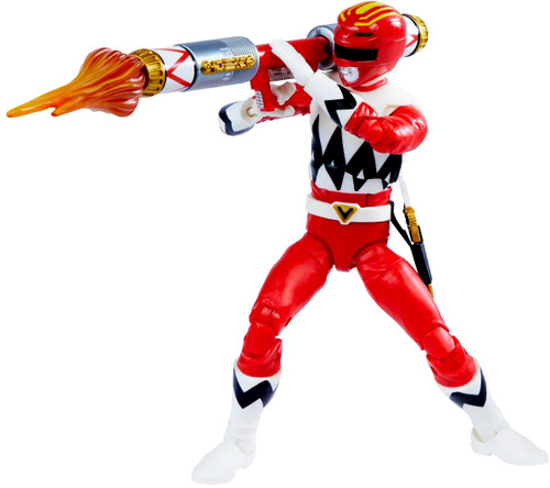 Power Rangers Lost Galaxy Lightning Collection Red Ranger Action Figure [Lost Galaxy]